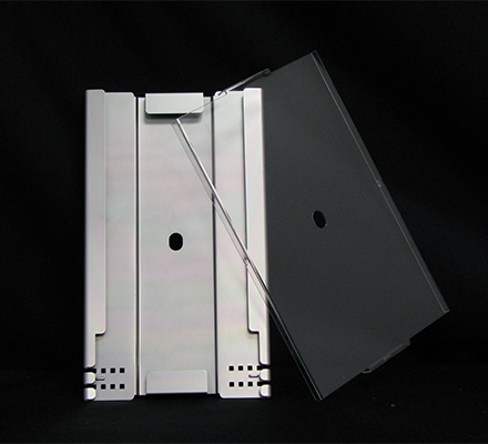 7-Inch Splice Tray with Plastic (Lexan) Cover